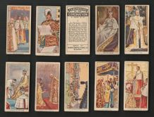 TRADE cards Ceremonies of the Coronation 1937